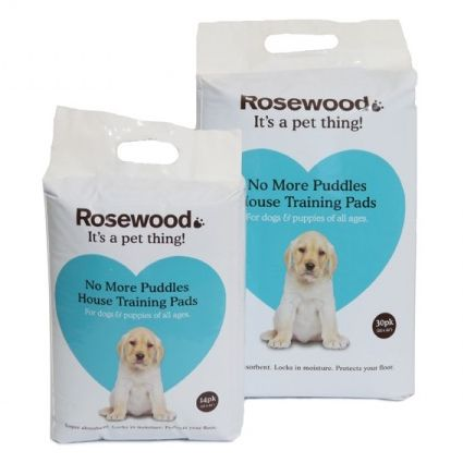 Rosewood No More Puddles House Training Pads for Dogs & Puppies