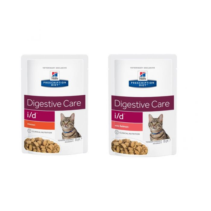 Hills Digestive Care I D Feline Food Wet 12x85g Pouch