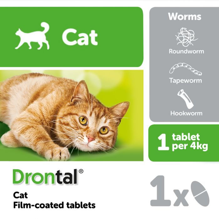 Drontal Cat Worming Tablet