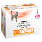 Purina Pro Plan Veterinary Diets Feline OM (Obesity Management) with Chicken Wet 10x85g Pouches