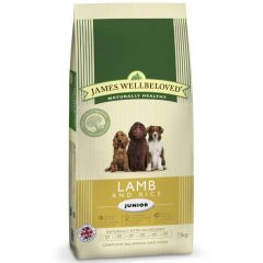 James Wellbeloved Junior Dog with Lamb & Rice Dry
