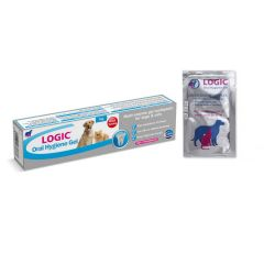 Logic Oral Hygiene Gel Tube and Sachets
