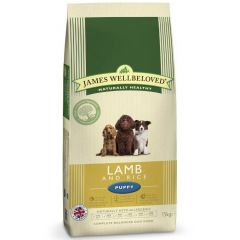 James Wellbeloved Puppy with Lamb & Rice Dry