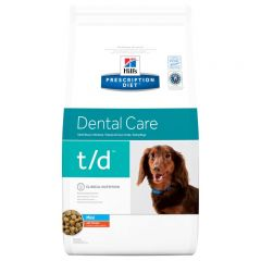 Hills Prescription Diet t/d Dental Care Mini Dog Food Dry with Chicken 3kg