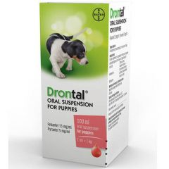 Drontal Oral Suspension for Puppies