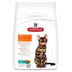 Hills Science Plan Adult Cat Light with Tuna Dry 5kg