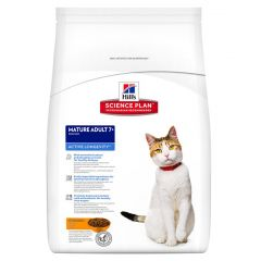 Hills Science Plan Mature Adult Cat 7+ Active Longevity with Chicken Dry