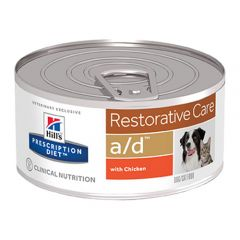 Hills Prescription Diet a/d Restorative Care Food for Dogs and Cats Wet 24x156g Cans