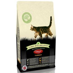 James Wellbeloved Adult Cat with Turkey Dry