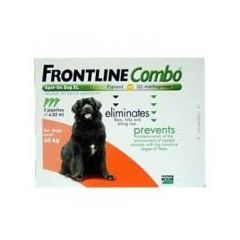 Frontline Combo Dog - Extra Large Dog (40-60kg)