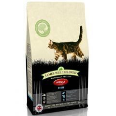 James Wellbeloved Adult Cat with Fish Dry