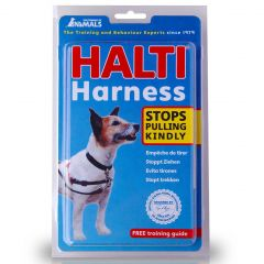 HALTI Harness Black & Red