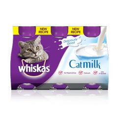 Whiskas Cat Milk 3x200ml Bottles