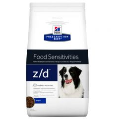 Hills Prescription Diet Z/D Food Sensitivities Canine Dry