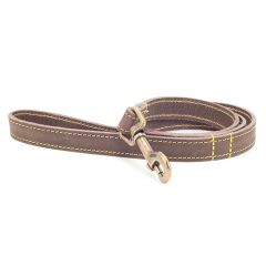Ancol Timberwolf Leather Lead Sable