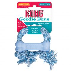 Kong Puppy Goodie Bone with Rope X-Small