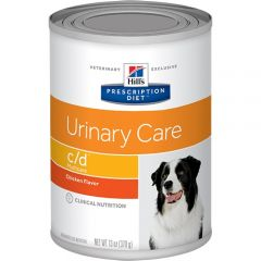 Hills Prescription Diet c/d Urinary Care - Multicare Dog Food Wet with Chicken 12x370g Can
