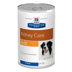 Hills Prescription Diet k/d Kidney Care Dog Food Wet - Original 12x370g Can