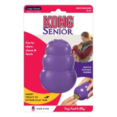 Kong Senior Toy Purple