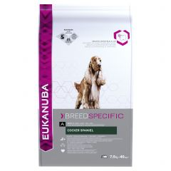 Eukanuba Breed Specific Cocker Spaniel Adult Dog with Chicken Dry 7.5kg