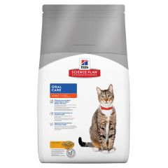 Hills Science Plan Oral Care Adult Cat with Chicken Dry