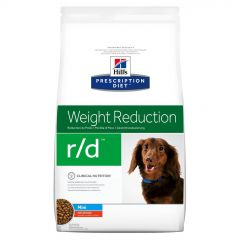 Hills Prescription Diet r/d Weight Reduction Mini Dog Food Dry with Chicken