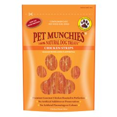 Pet Munchies Strips 90g