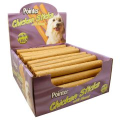Pointer Chicken Sticks Dog Treats 50x75g