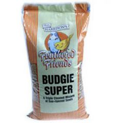 Walter Harrisons Feathered Friends Budgie Super Mix 20kg