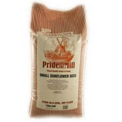 Walter Harrisons Pride of the Mill Small Striped Sunflower Seeds 12.5kg