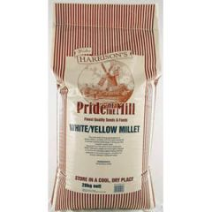 Walter Harrisons Pride of the Mill White/Yellow Millet 20kg