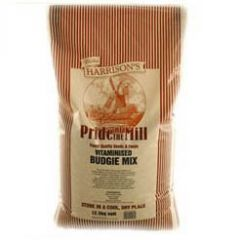 Walter Harrisons Pride of the Mill Vitaminised Budgie Food 12.5kg