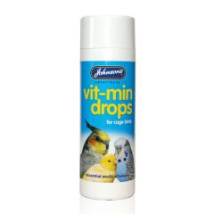 Johnsons Vit-Min Drops for Cage Birds 100ml