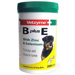 Vetzyme B plus E Tablets