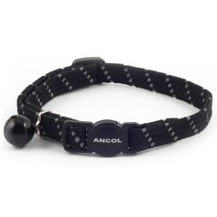 Ancol Cat Collar Elasticated Reflective Softweave