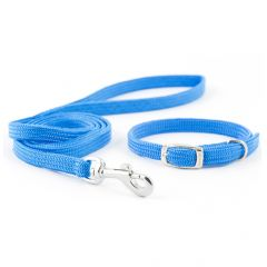 Ancol Puppy Collar and Lead Set Softweave