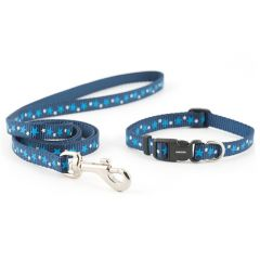 Ancol Puppy Collar and Lead Set Stars