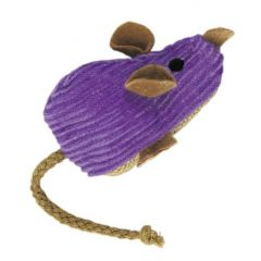 Kong Catnip Refillable Corduroy Mouse Cat Toy