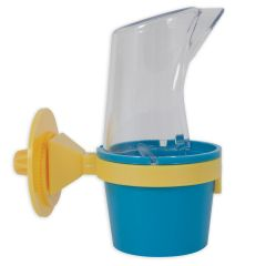 Jw Clean Cup Caged Bird Feed and Water Station
