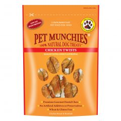Pet Munchies Twists 80g