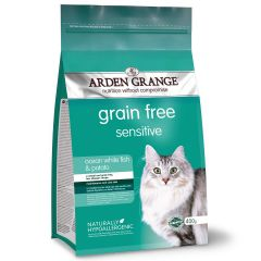 Arden Grange Grain Free Adult Cat Sensitive with Ocean White Fish and Potato Dry