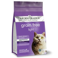 Arden Grange Grain Free Adult Cat Light with Fresh Chicken & Potato Dry