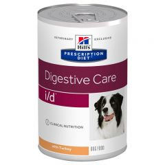 Hills Prescription Diet i/d Digestive Care Wet Dog Food 12x360g Can