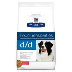 Hills Prescription Diet d/d Food Sensitivities Dog Food Dry with Salmon & Rice