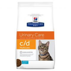 Hills Prescription Diet c/d Urinary Care - Multicare Cat Food Dry with Ocean Fish