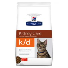 Hills Prescription Diet k/d Kidney Care Cat Food Dry with Chicken