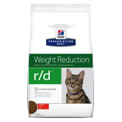 Hills Prescription Diet r/d Weight Reduction Cat Food Dry with Chicken