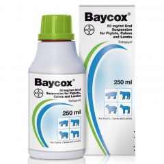 Baycox 50 mg/ml Oral Suspension for Piglets, Calves and Lambs