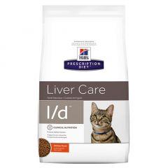 Hills Prescription Diet l/d Liver Care Cat Food Dry with Chicken 1.5kg