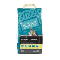 Burns Weight Control+ Adult Dog with Chicken & Oats Dry